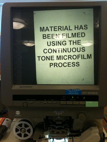 Microfilm Processing