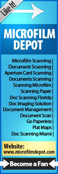 Florida Microfilm Microfiche Scanning Services